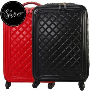Quilted Rolling Trolley Carry On Bag